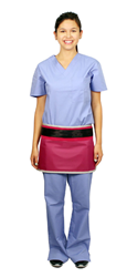 Velcro Closure Half Apron