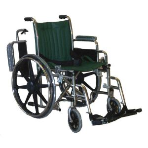 "Wheelchair 18"" with flip up arms"