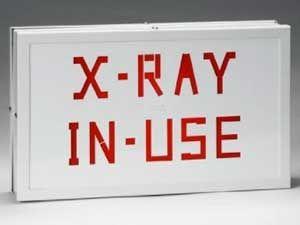 X-RAY IN USE ILLUMINATED SIGN