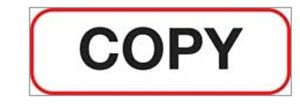"""Copy"" Label - XCOPY"