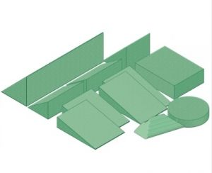 Stealth-Cote Clinic Sponge Kit B