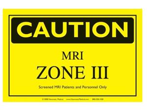 MRI ZONE III sign