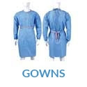 Gowns & Masks - Disposable and Reusable