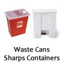 Waste Cans and Sharps