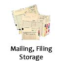 filing mailing labels