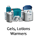 Gels Lotions and Warmers