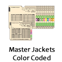 Color Coded Master Jackets