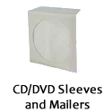 CD DVD Sleeves and Mailers