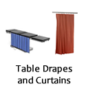 Curtains and Table Drapes