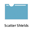 Scatter shields